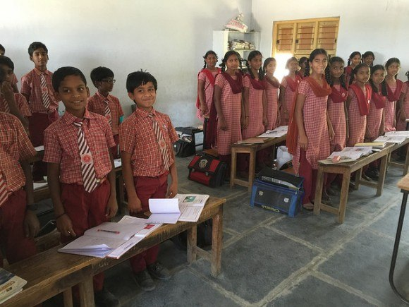 Holy Spirit English Medium School, Atmakur, India Photo: Heatheronhertravels.com