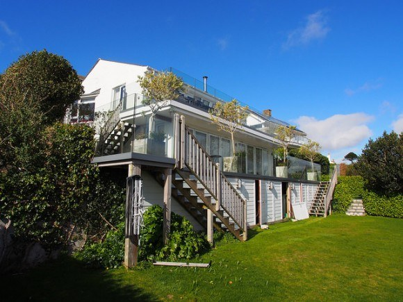 Dreamcatchers luxury holiday house with St Mawes Retreats Photo: Heatheronhertravels.com