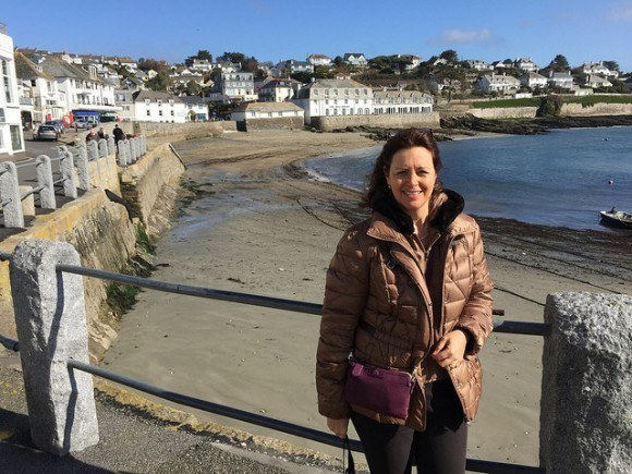 St Mawes harbour in Cornwall staying with St Mawes Retreats Photo: Heatheronhertravels.com