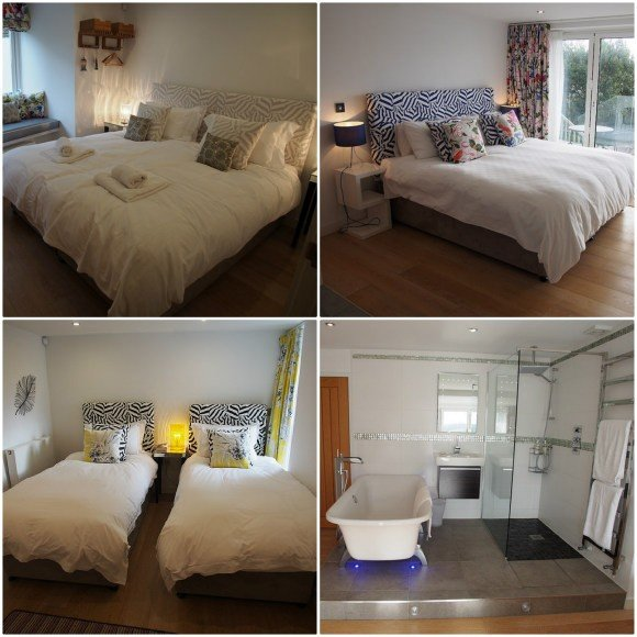 Dreamcatchers luxury holiday house in St Mawes, Corwall through St Mawes Retreats Photo: Heatheronhertravels.com