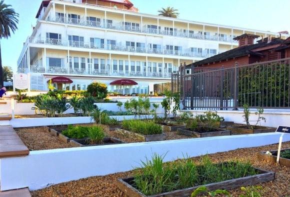 Gardens of Hotel del Coronado in San Diego