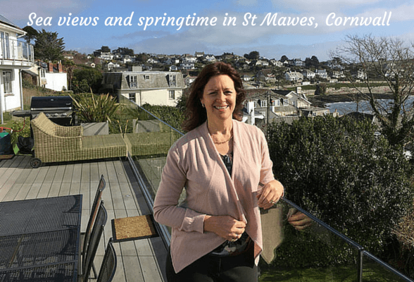 Sea views and springtime in St Mawes – our weekend in Cornwall