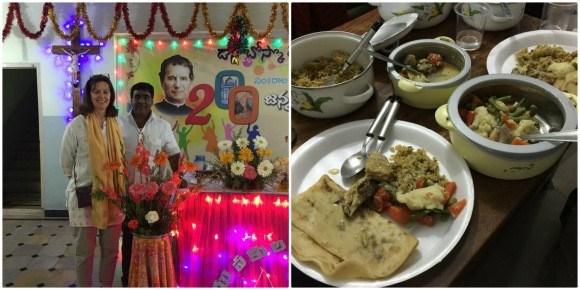 Celebration of Don Bosco Father's feast day, Ananthapur, India Photo: Heatheronhertravels.com