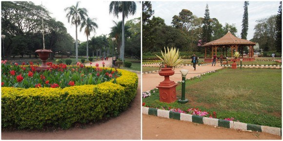 Lalbagh Botanical Gardens in Bengaluru / Bangalore, India