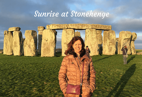 Sunrise at Stonehenge – inside the stone circle