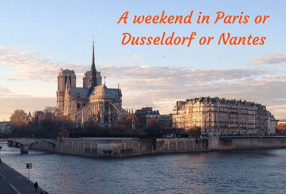 A weekend in Paris, Nantes, Düsseldorf – with BMI Regional