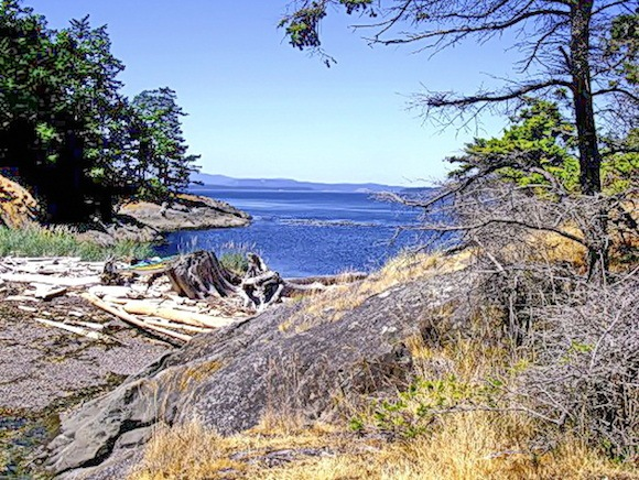 Gulf Islands kayaking Photo: Hikebiketravel.com