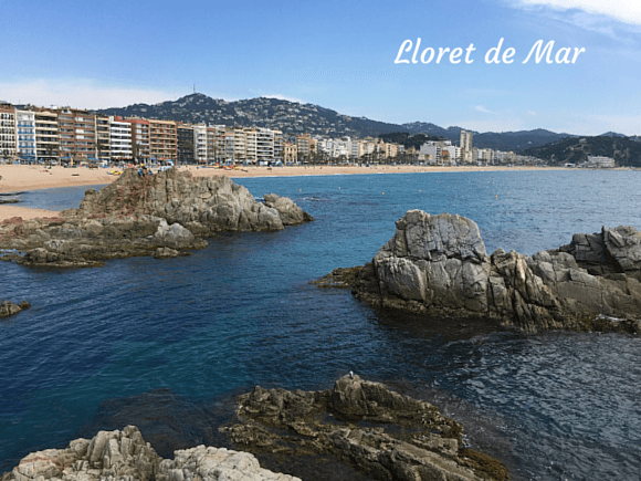 The Beach at Lloret de Mar, Costa Brava Photo: Heatheronhertravels.com