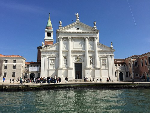 Church of San Giorgio Maggiore in Venice Photo: Heatheronhertravels.com