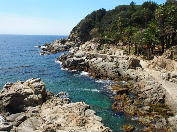 Coastline by Lloret de Mar, Costa Brava Photo: Heatheronhertravels.com