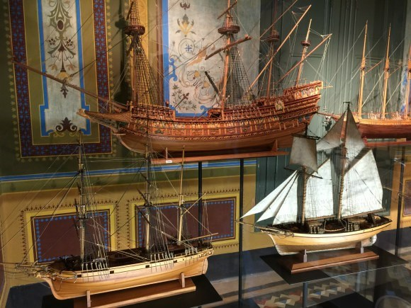 Ships in the Museu del Mar, Lloret de Mar Photo: Heatheronhertravels.com