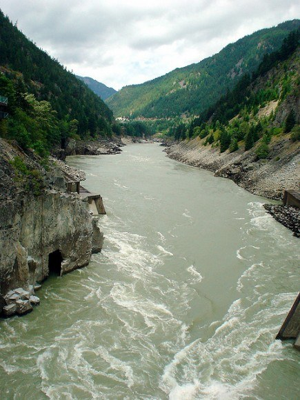 Fraser River in BC, Canada Photo: John Bromley on Flickr