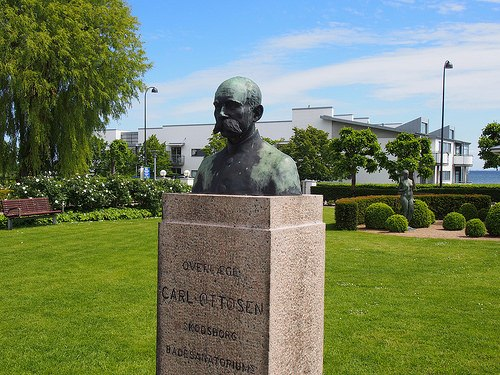 Dr Carl Ottoson founded the Sanetorium which is now Kurhotel Skodsborg Photo: Heatheronhertravels.com