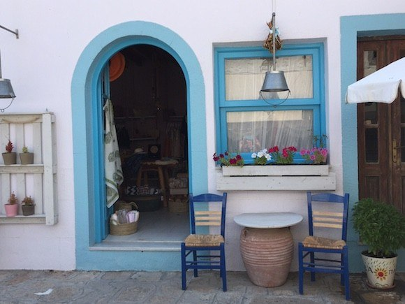 Shopping on Patmos, Greece Photo: Heatheronhertravels.com