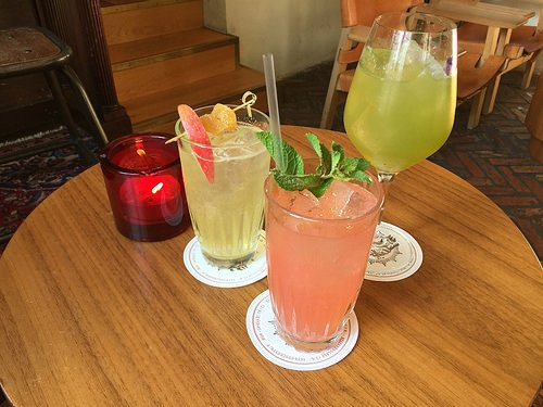 Cocktails in Copenhagen at Lidkoeb Photo: Heatheronhertravels.com
