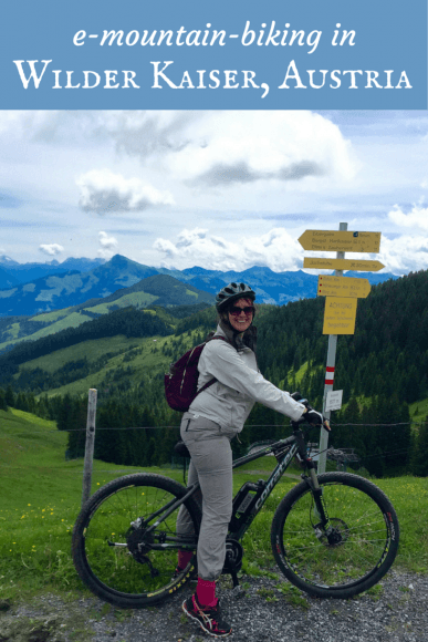 Read about e-mountainbiking in Wilder Kaiser, Austria