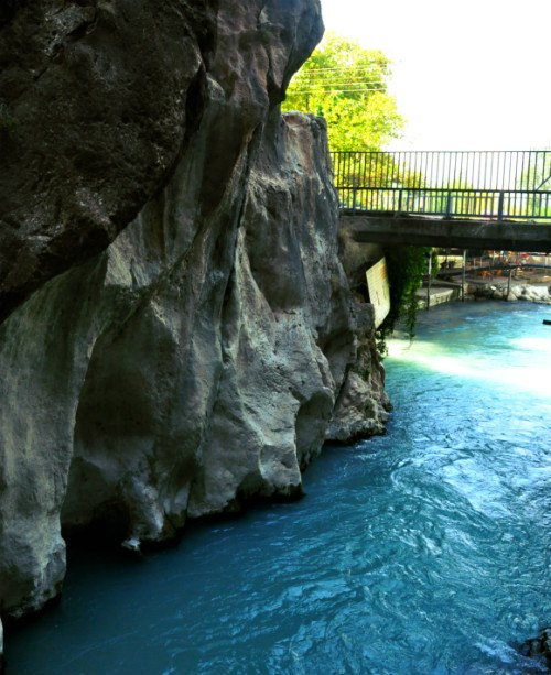 Saklikent River Gorge in Turkey Photo: Reka Kaponay