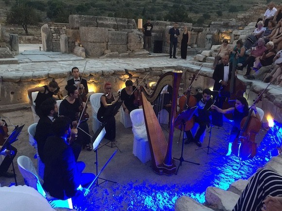 Concert at Ephesus, Turkey