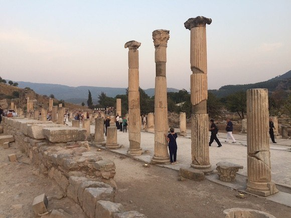 Evening at Ephesus, Turkey