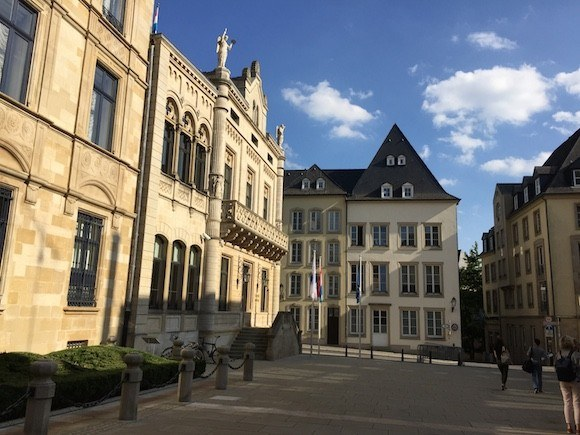 The Grand Ducal Palace in Luxembourg Photo: Heatheronhertravels.com