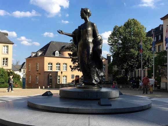 Grand Duchess Charlotte of Luxembourg Photo: Heatheronhertravels.com