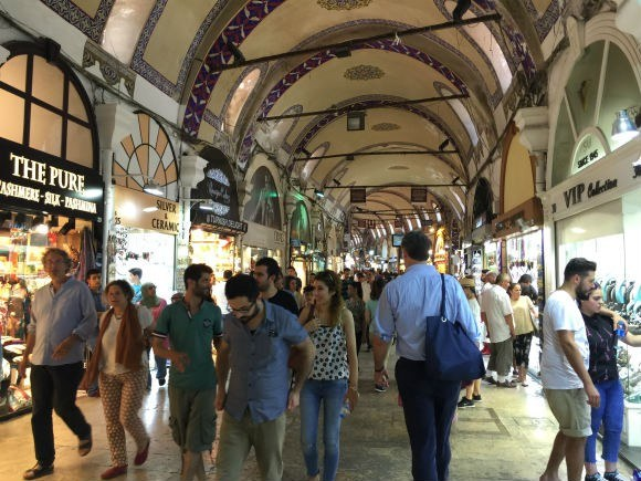 The Grand Bazaar in Istanbul Photo: Heatheronhertravels.com