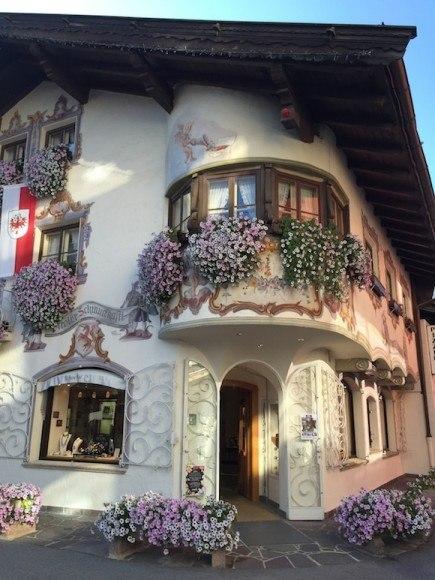 Pretty houses in Seefeld, Austria Photo: Heatheronhertravels.com
