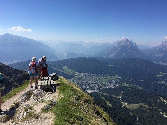 The view from Seefelder Spitze in Austria Photo: Heatheronhertravels.com