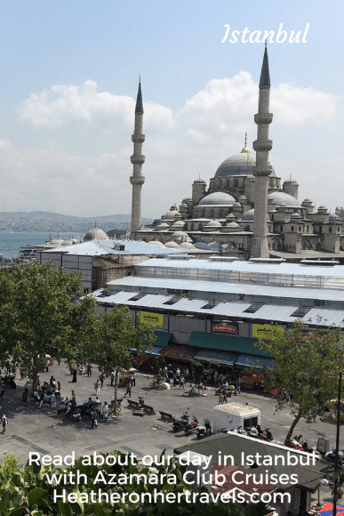 Read about our day in Istanbul with Azamara Club Cruises