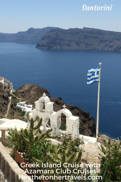 Read about our Cruise stop on Santorini with Azamara Club Cruises