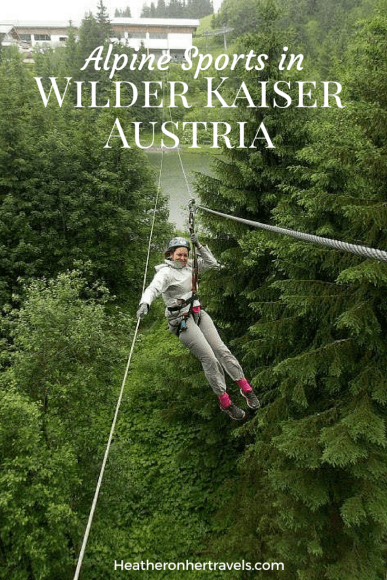 Read about climbing at Hornpark in Wilder Kaiser, Austria