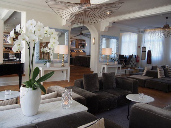 The Lounge at Kurhotel Skodsborg Photo: Heatheronhertravels.com
