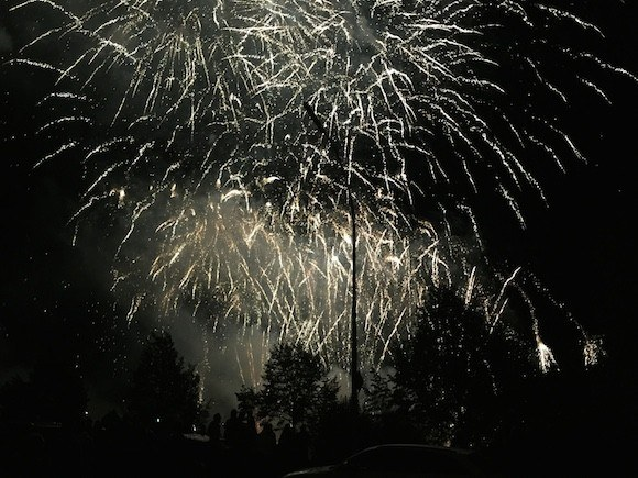 Firework Display at the Grevenmacher Wine Festival Photo: Heatheronhertravels.com