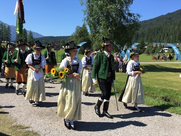 The Rifleman's Parade in Seefeld Photo: Heatheronhertravels.com