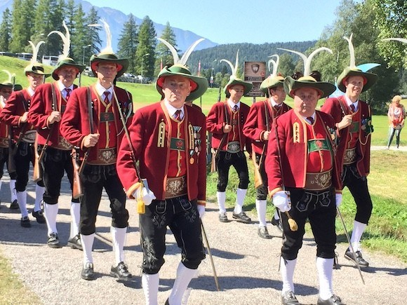 The Rifleman's Parade in Seefeld, Austria Photo: Heatheronhertravels.com