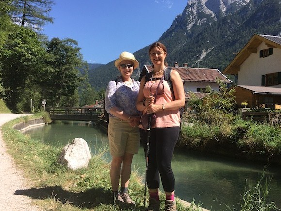 Walking to Mittenwald from the Leutasch Gorge Photo: Heatheronhertravels.com