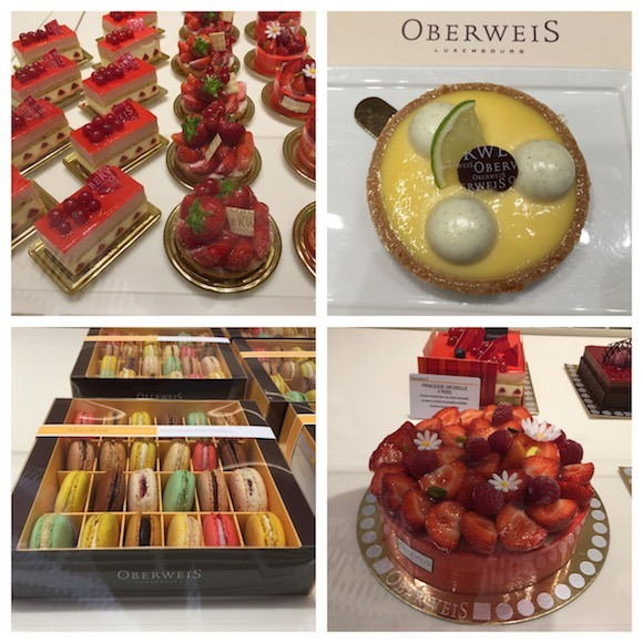 Patisserie at Oberweis in Luxembourg Photo: Heatheronhertravels.com