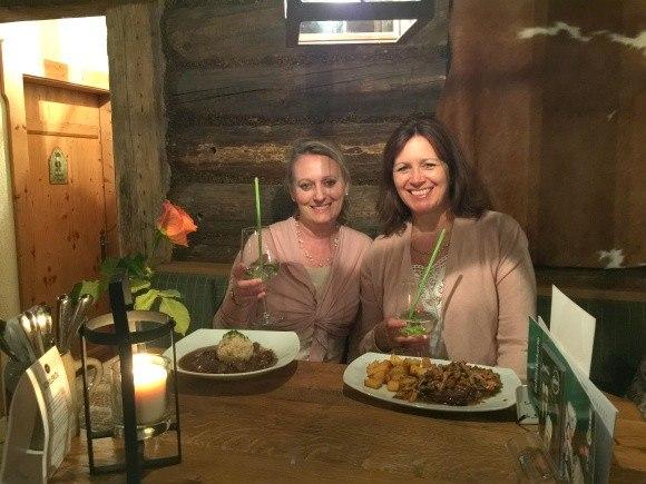 Dinner at Dorfstadl in Leutasch, Austria Photo: Heatheronhertravels.com