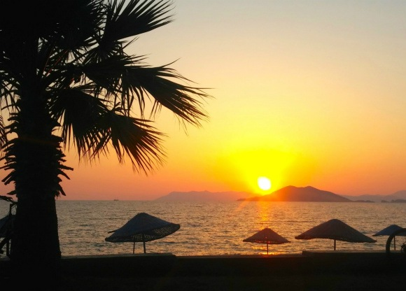 Sunset in Fethiye Photo: Reka Kaponay