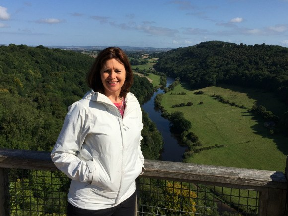 My waterproof jacket is great for walks in the Wye Valley Photo: Heatheronhertravels.com
