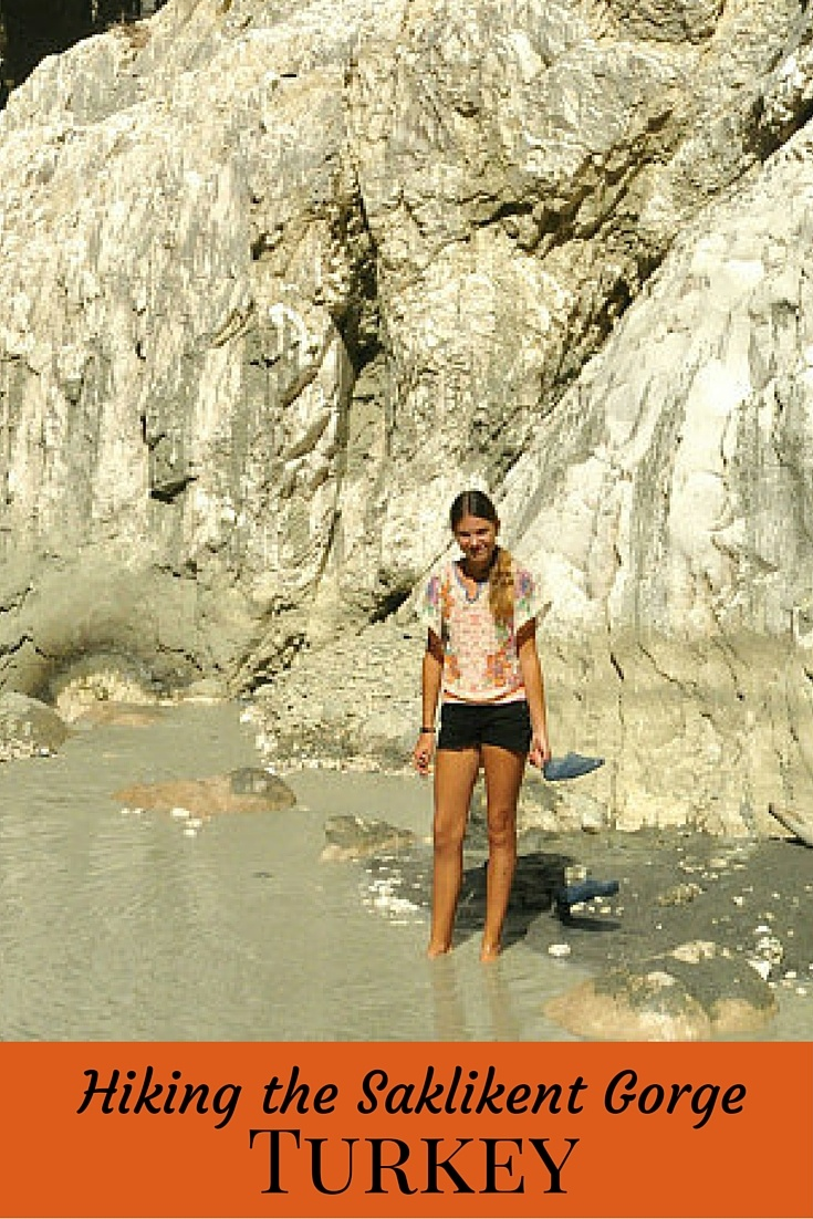 Read about Hiking the Saklikent Gorge in Turkey