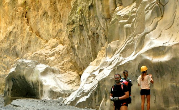 In the Saklikent Gorge Turkey Photo: Reka Kaponay