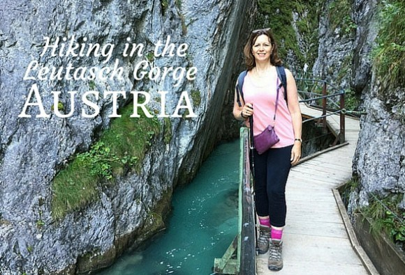 Hiking in the Leutasch Gorge Austria Photo: Heatheronhertravels.com
