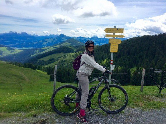 Mountain-biking in Wilder Kaiser, Austria Photo: Heatheronhertravels.com