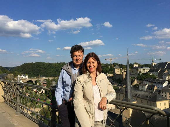 A weekend in Luxembourg with my husband