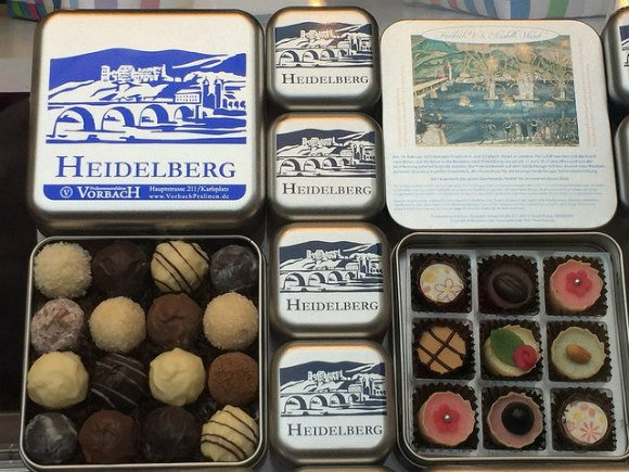 Pralinmanufaktur Vorbach chocolates in Heidelberg Photo: Heatheronhertravels.com