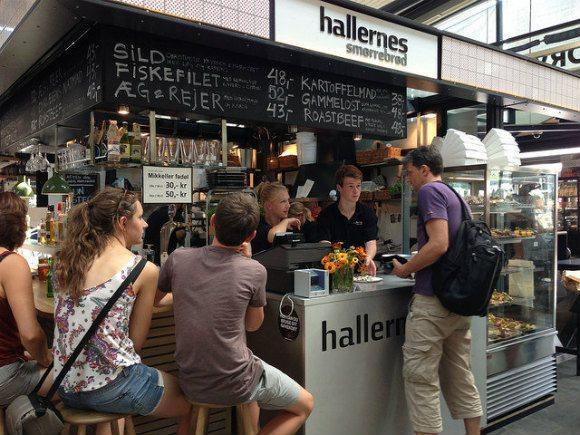 Torvehallerne food hall in Copenhagen Photo: Heatheronhertravels.com