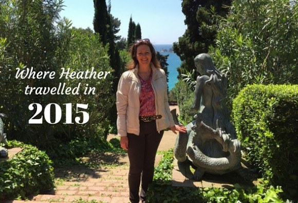 Where Heather travelled in 2015 Photo: Heatheronhertravels.com