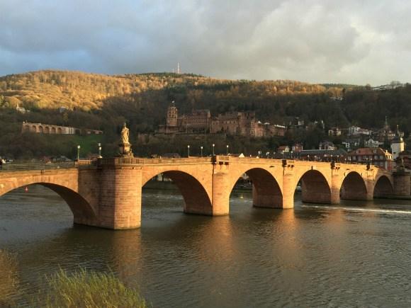 Alte Brucke or Old Bridge in Heidelberg Photo: Heatheronhertravels.com