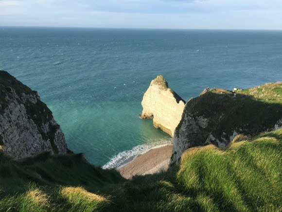 Cliffs at Etretat in Normandy Photo: Heatheronhertravels.com